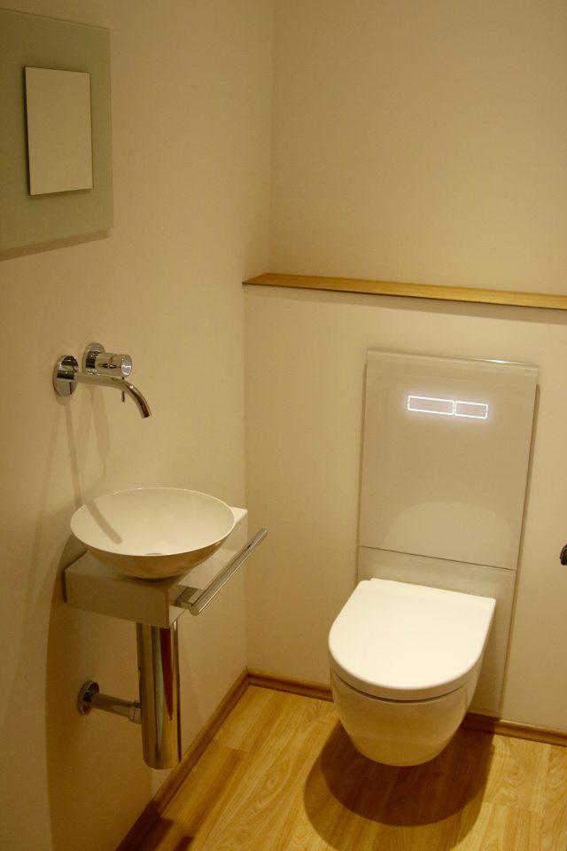 WC mit TECElux – Terminal