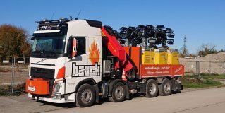 Transport- und Zugfahrzeuge für diverse Logistikaufgaben, Sondertransporte